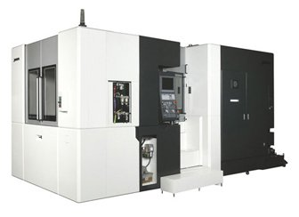 The MA-600HII horizontal machining center handles accurate, steady machining ranging from mass production to continuous die/mold applications.