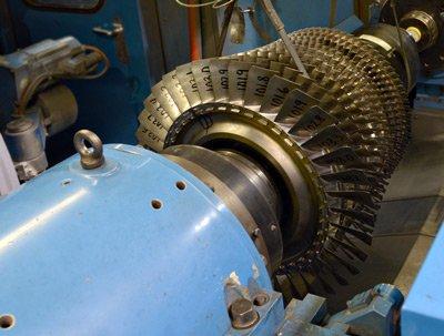 large turning machine